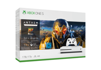 Xbox One S console 1 TB + Anthem voor €199