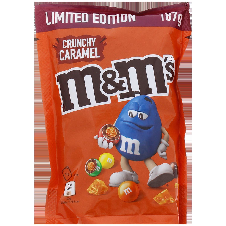 M&M's Crunchy Caramel 187 gram voor €1,69