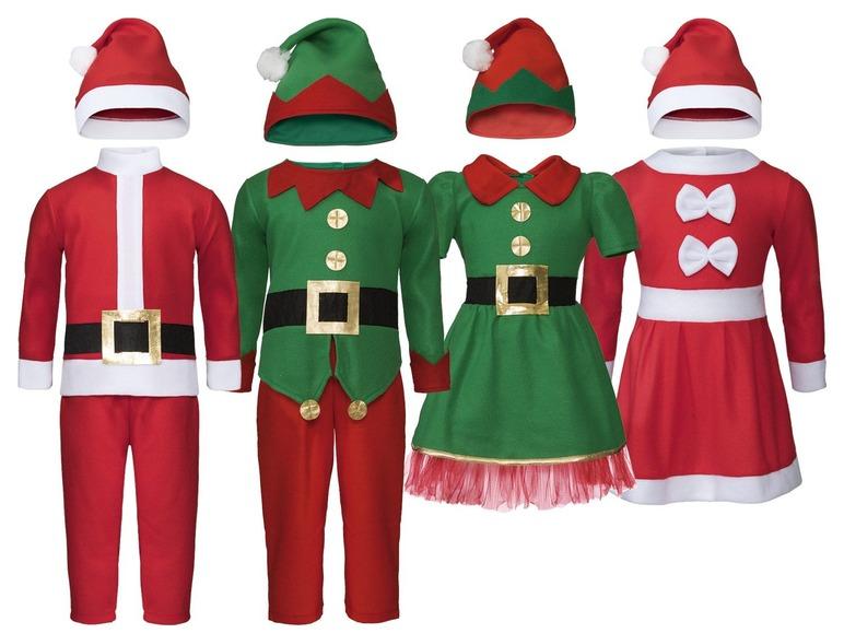 Kinder santa- of elfenkostuum voor €3,99