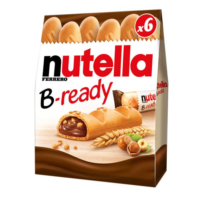 Probeer Nutella B-ready gratis door cashback