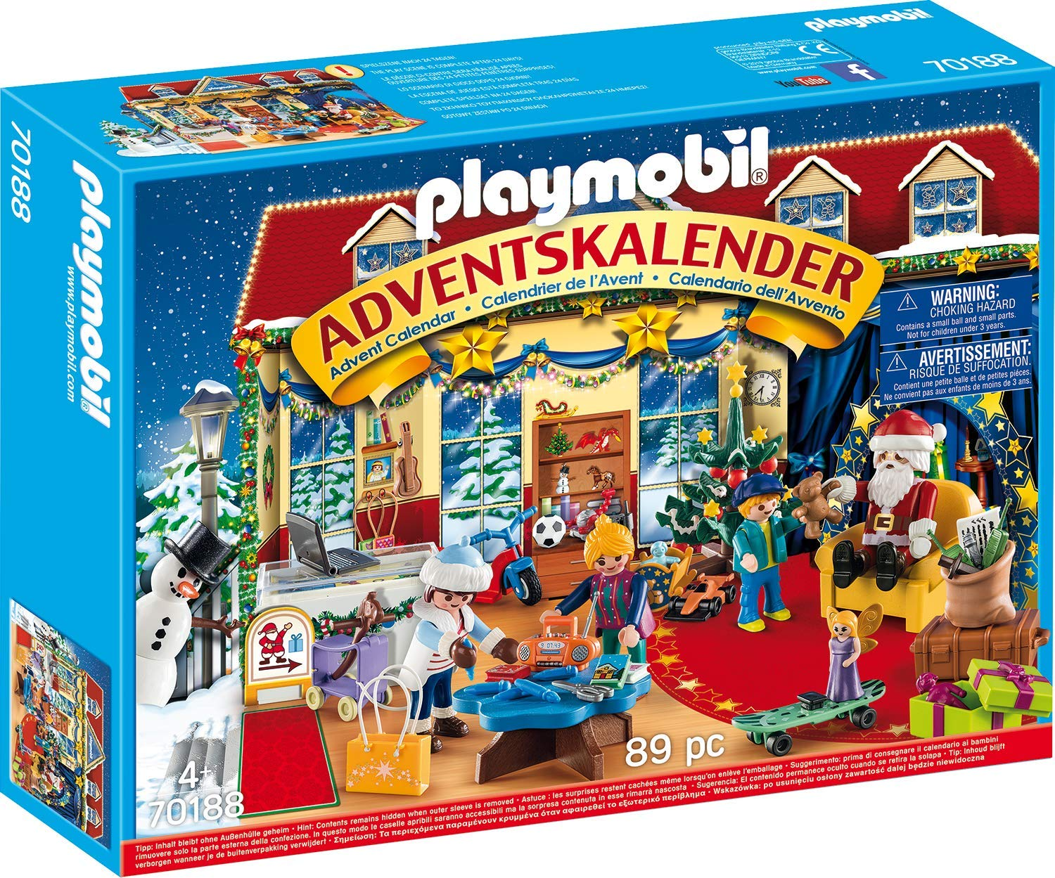 PLAYMOBIL 70188 Adventskalender voor €14,65