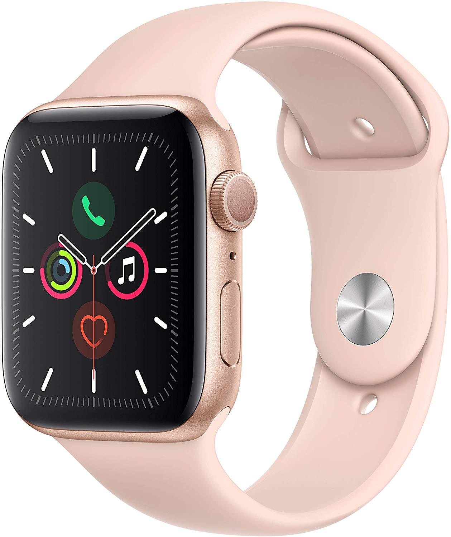 Apple Watch Series 5 GPS 44mm Gold voor €393,15