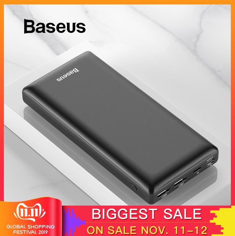 Baseus 30000mAh powerbank UBS-C voor €18,41