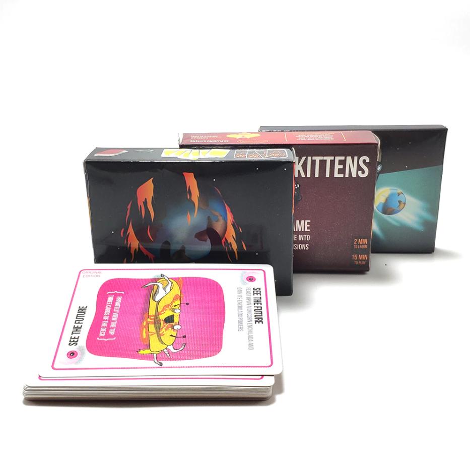 Exploding Kittens bordspel voor €6,14