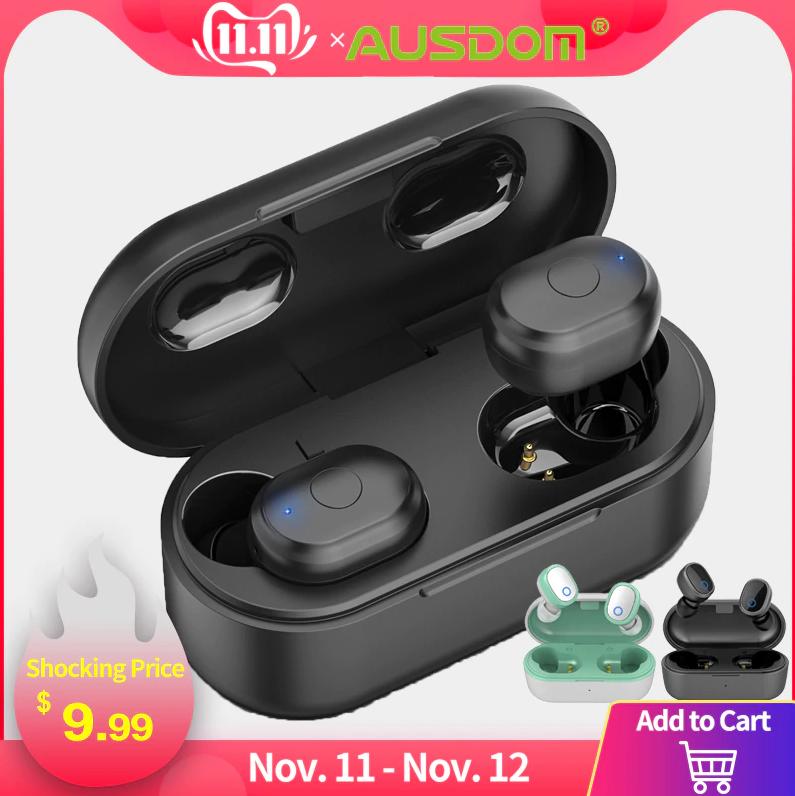 AUSDOM TW01 TWS Draadloze Bluetooth Oortjes voor €9,20
