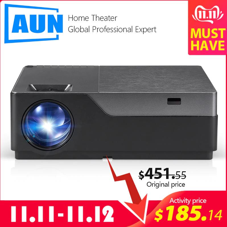AUN M18 Full-HD Projector voor €166,71