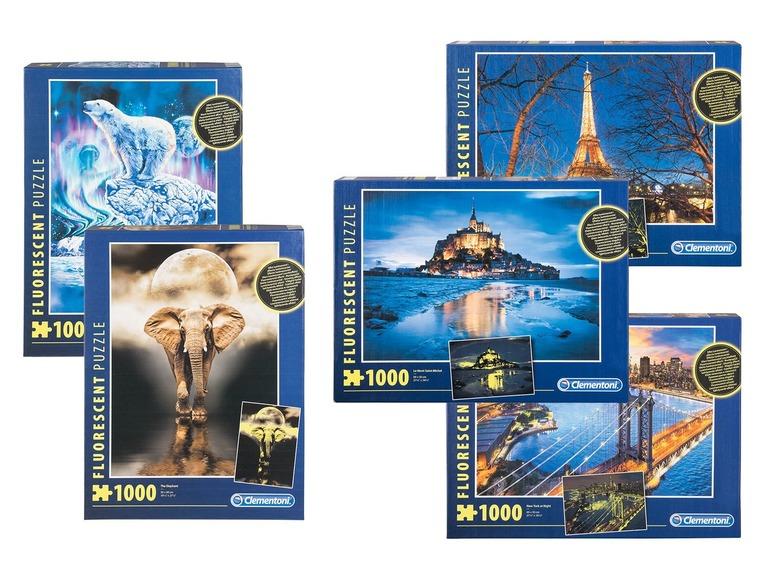 CLEMENTONI® Puzzel met 1000 stukjes voor €3,99