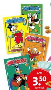 Donald Duck mini pockets editie 3, 4, 7 of 11 voor €3,50