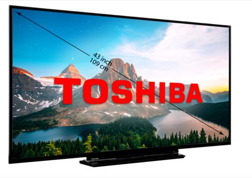 Toshiba 55U2963DG 55″ 4K Ultra-HD Smart-TV voor €399,99