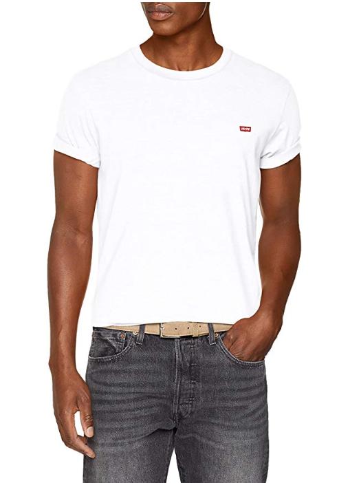 Levi's 'ORIGINAL HM TEE' T-shirt voor €10,49