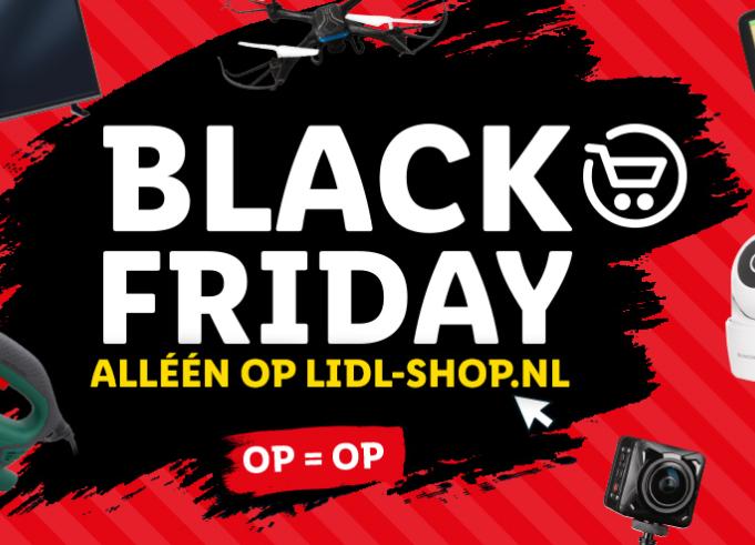 Lidl Black Friday met o.a. Smart-TV's voor €299