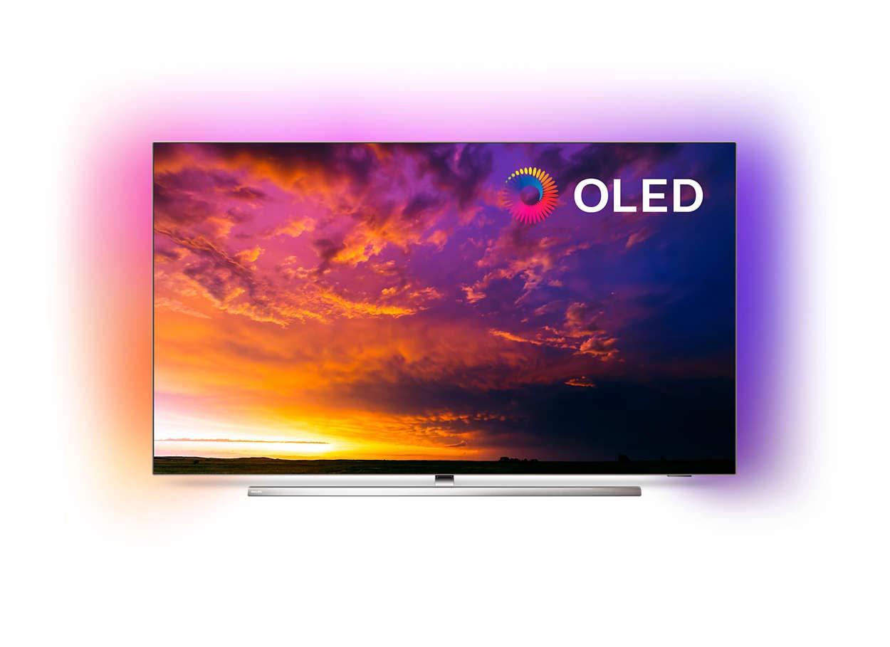 Philips 55OLED854 – 4K Ambilight Smart-TV voor €1259,99