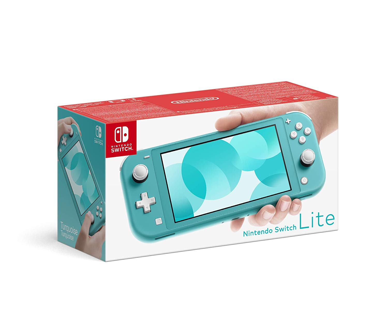 Nintendo Switch Lite Console – Turquoise voor €195