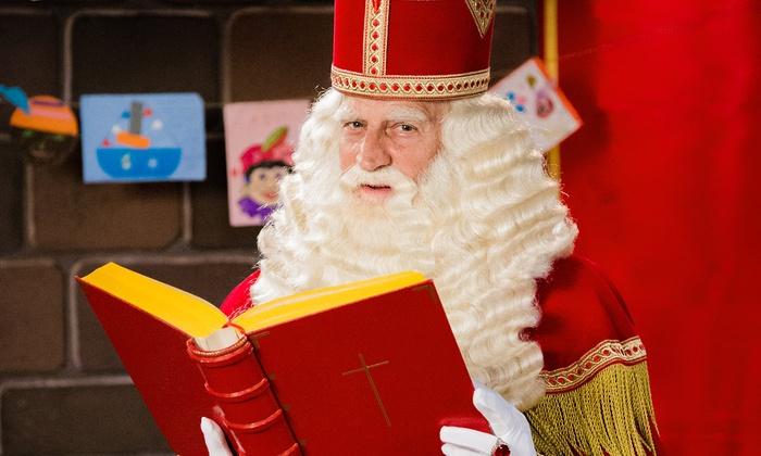 Persoonlijke videoboodschap van Sinterklaas vanaf €3,28
