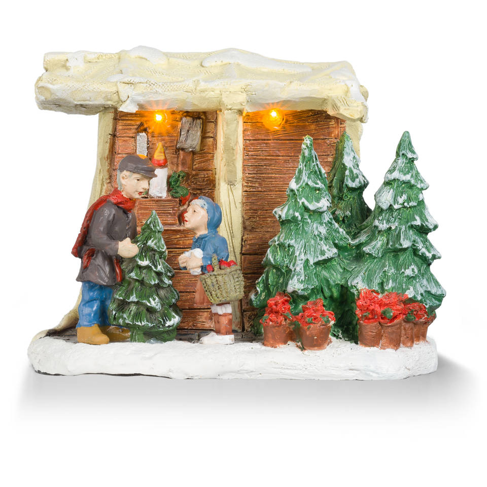Anton Pieck kerstdorp inrichting 2e voor de halve prijs bij Blokker