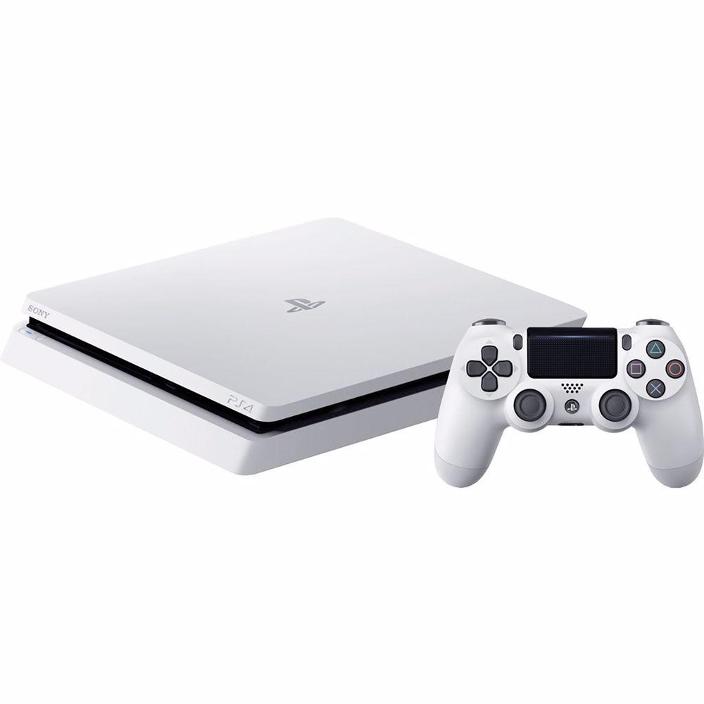 Playstation 4 Slim (Glacier White) 500GB voor €199