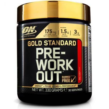 Gold Standard Pre-Workout 300gr Pink Lemonade voor €13,99