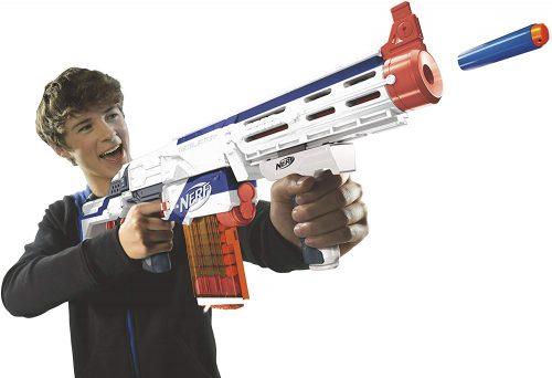 Nerf Elite retaliator blaster voor €9,99