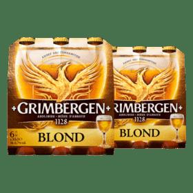1+1 gratis op drie soorten Grimbergen bier