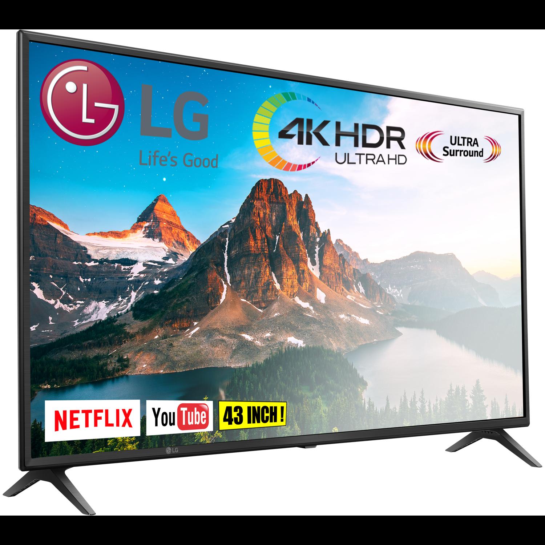 LG 43UM71 4K Ultra-HD Smart-TV voor €299,99