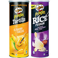 Alle Pringles Rice of Tortilla voor €0,99