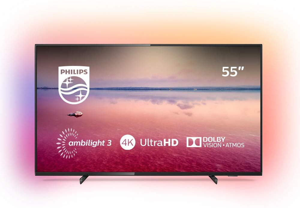 PHILIPS 55PUS6704/12 55″ 4K Ultra HD Smart-TV voor €399