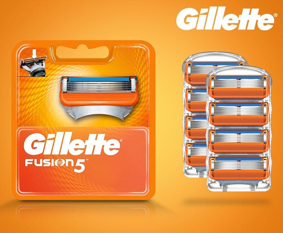 Gillette Fusion – 8 scheermesjes voor €16,95