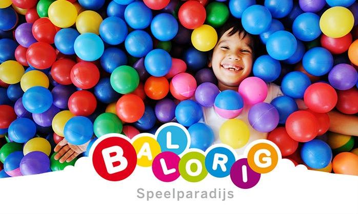 Entree indoor speelparadijs Ballorig voor €3,19 door kortingscode