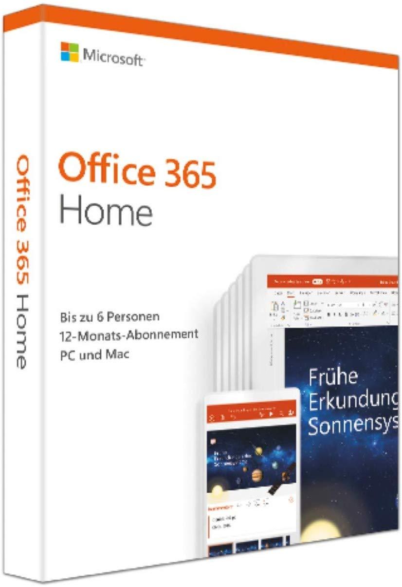Microsoft Office 365 Home – 1 Jaar Abonnement voor €53,49