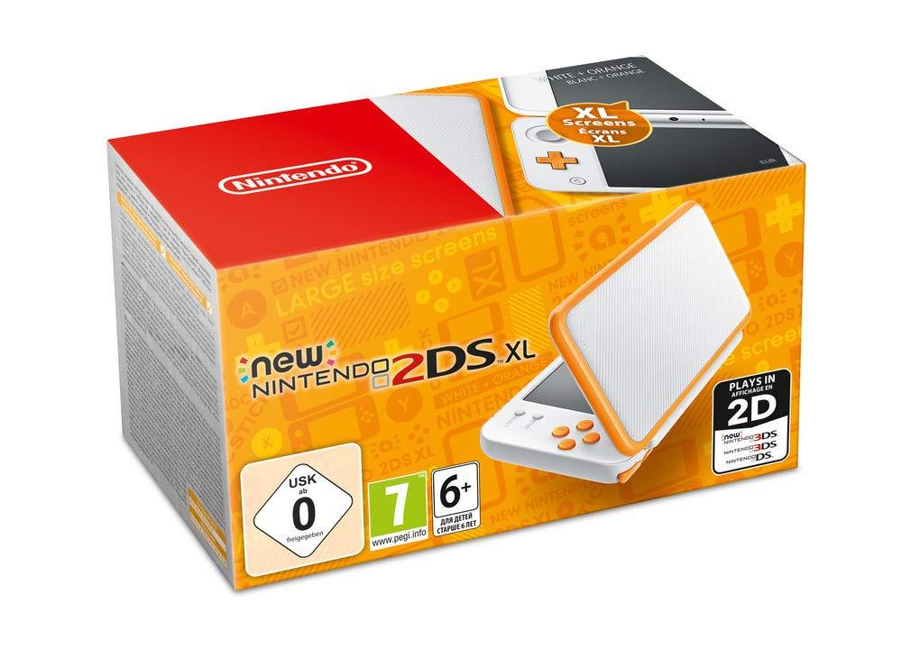 Nintendo 2DS XL Wit/Oranje voor €104,97