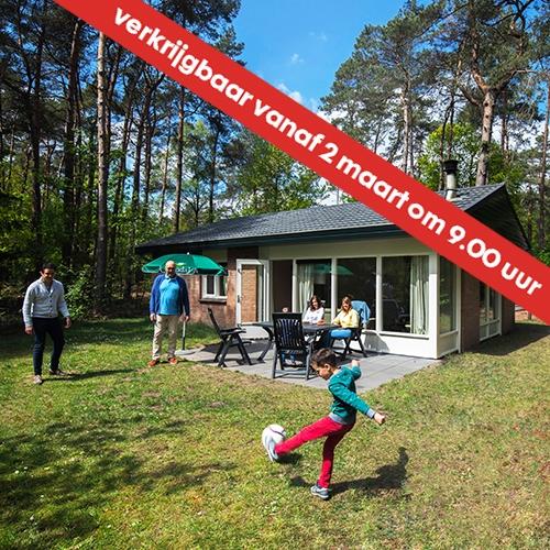 Midweek weg voor €159 met de HEMA bungalowweken
