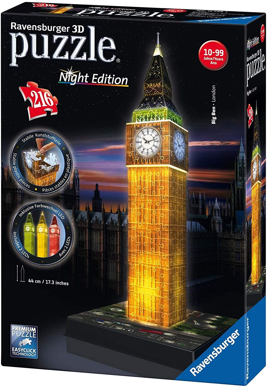 Ravensburger Big Ben 3D Puzzel voor €14,99