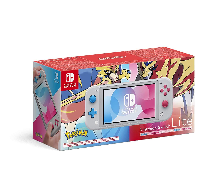 Nintendo Switch Lite Pokémon Zacian & Zamazenta Edition voor €189