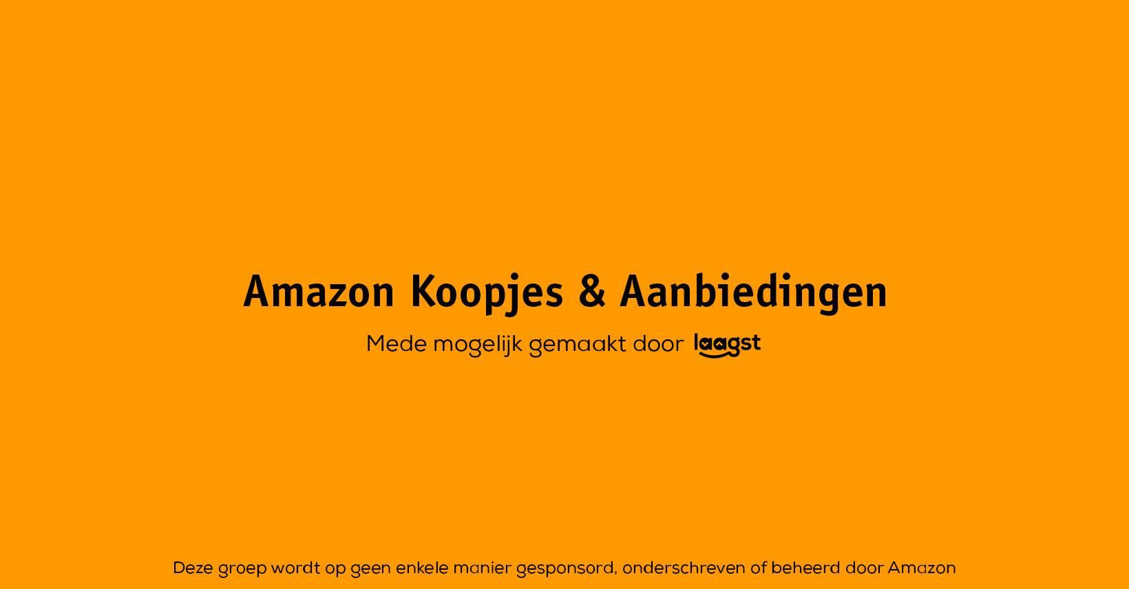 Amazon Koopjes & Aanbiedingen Facebook groep van laagst.nl