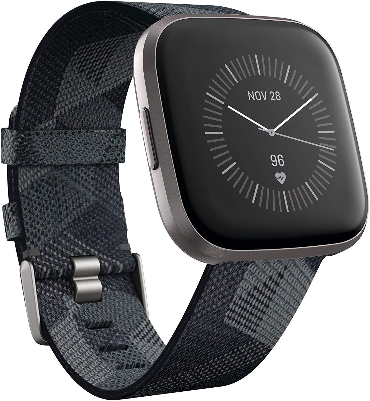 Fitbit smartwatch Versa 2 (Donkergrijs) voor €149,99
