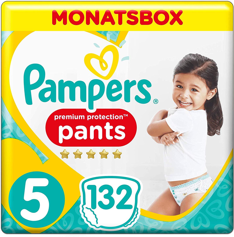 Pampers Premium Protection Luierbroekjes Maat 5 (12-17 kg) 132 stuks voor €26,40