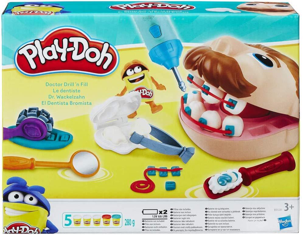 Play-Doh Bij de Tandarts – Plasticine Speelset voor €9,99