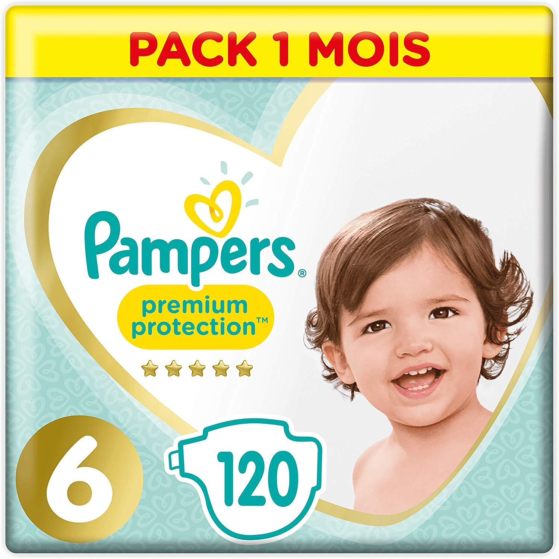 Pampers Premium Protection Luiers Maat 6 (13 kg+) 120 stuks voor €25,99