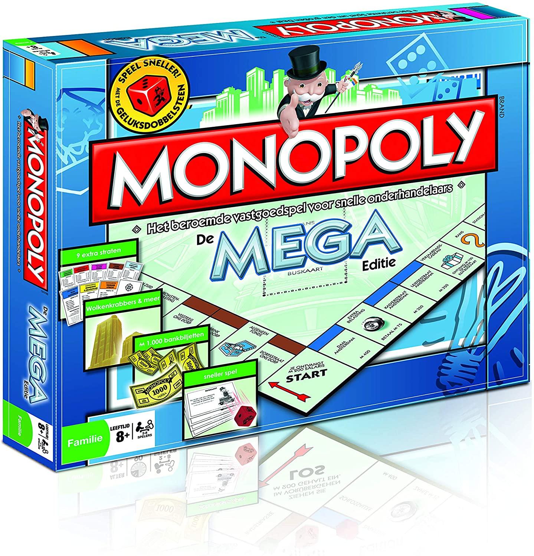 Monopoly: Mega Editie voor €19,99 (Nederlandse versie)