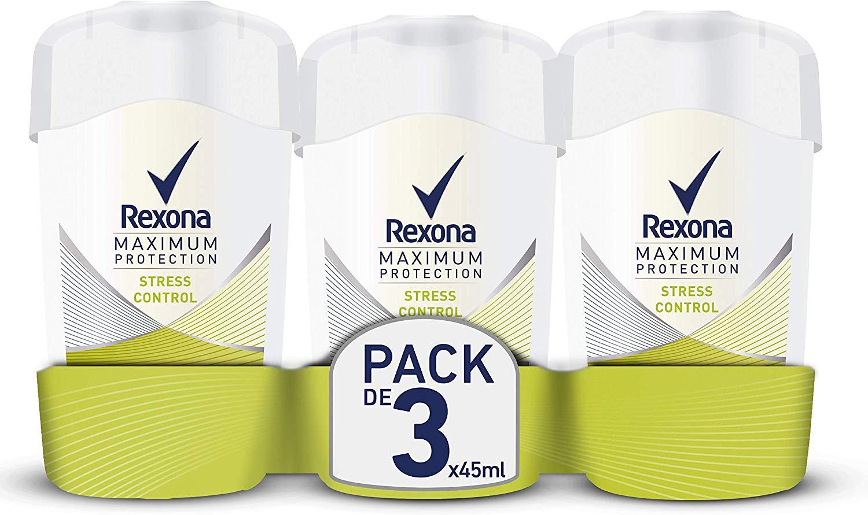 Rexona Deodorant Stick Maximum Protection 3 stuks voor €9