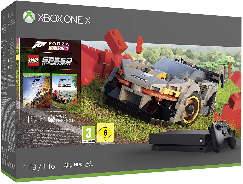 Xbox One X Forza Horizon 4 + Lego Bundel voor €293,86
