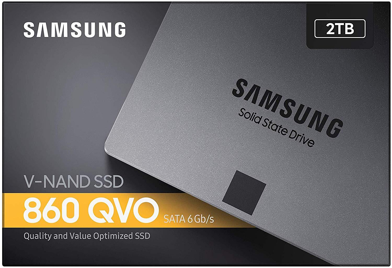 Samsung 860 QVO 2TB SSD voor €149,99