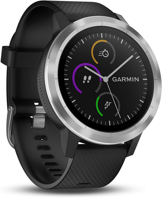 Garmin Vivoactive 3 Smartwatch – Zwart/Zilver voor €134,99