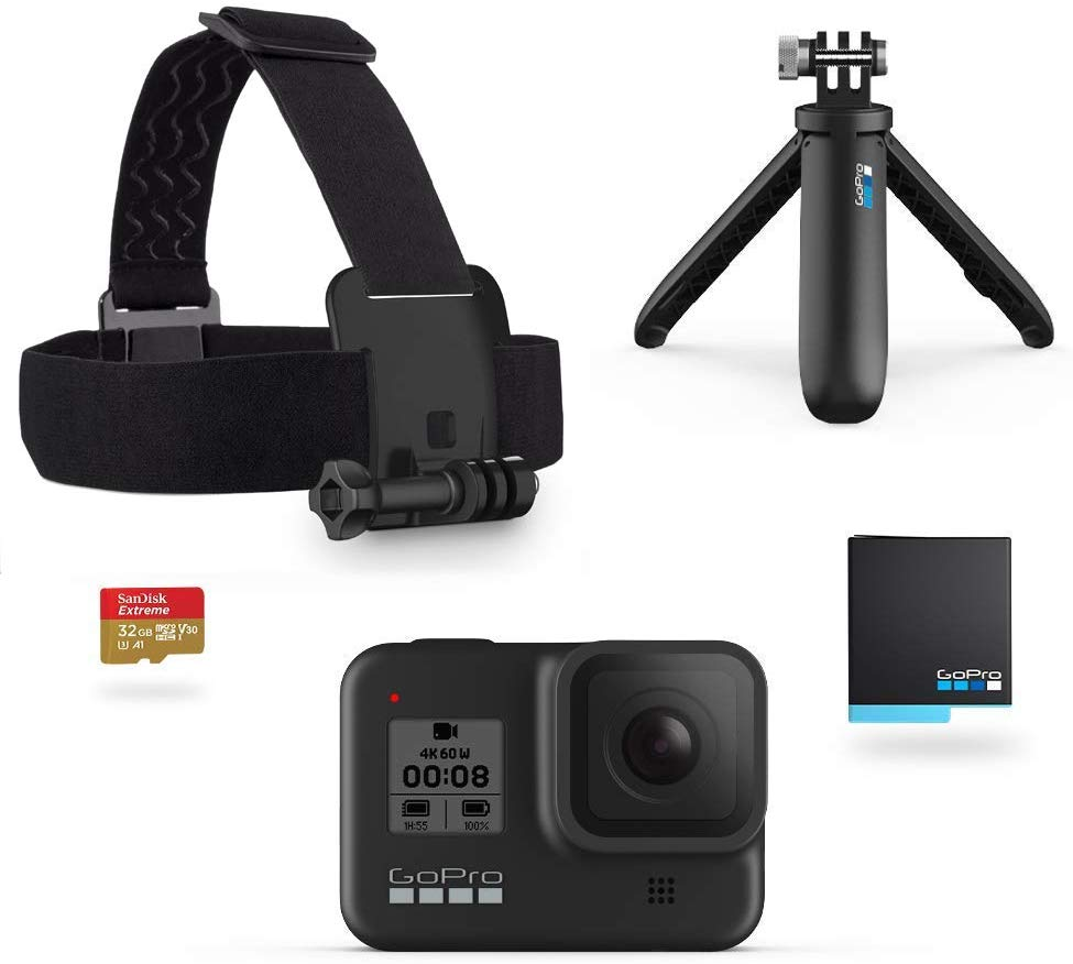GoPro Hero8 Zwart – Actioncam + Holiday Kit voor €329,99