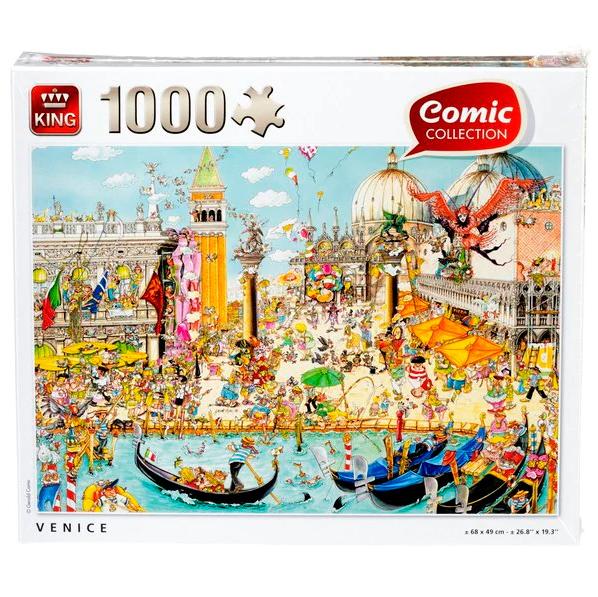 Diverse King Collection Legpuzzels 1000 pcs voor €2,89