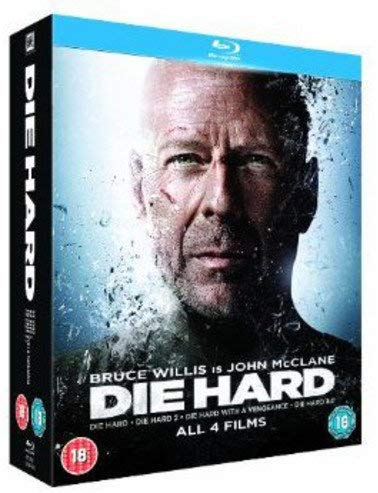 Die Hard Quadrilogy Blu-Ray voor €4,76