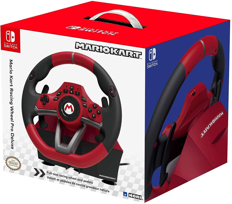 HORI Mario Kart Racing Wheel Pro Deluxe voor €64,52