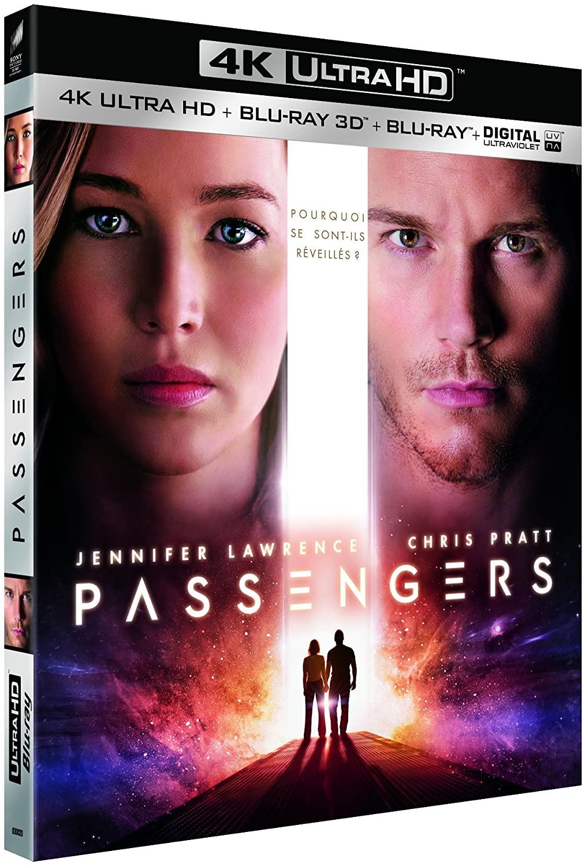 Passengers 4K + Blu-ray 3D voor €9,52