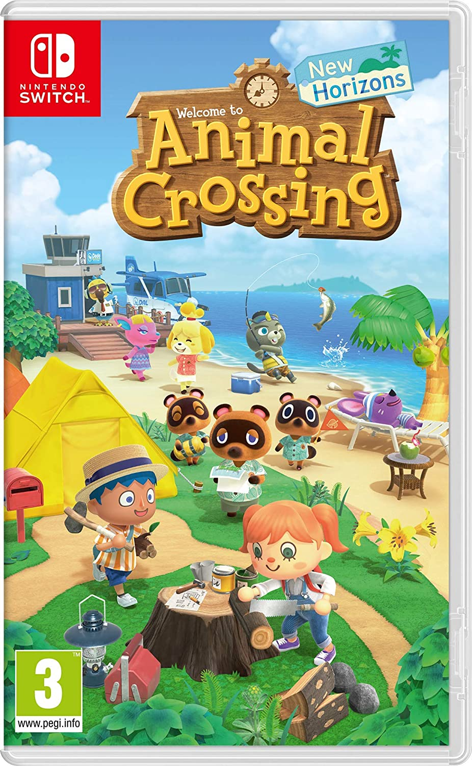 Animal Crossing – New Horizons voor Nintendo Switch voor €49,59