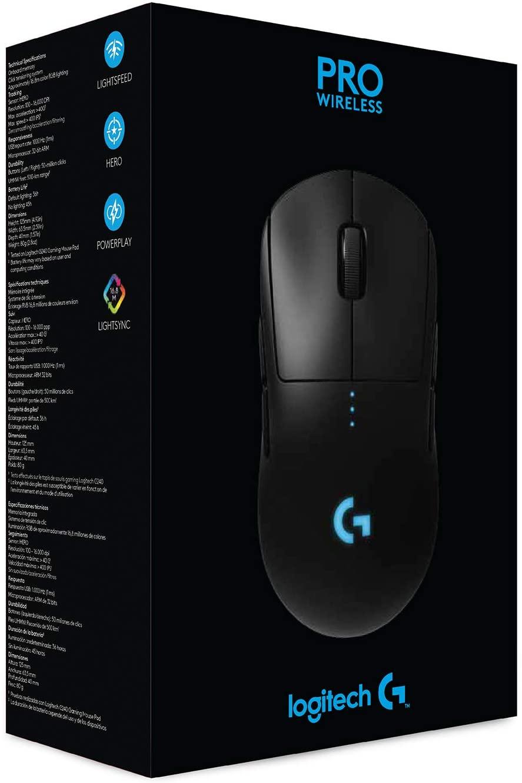 Logitech G PRO draadloze gaming muis voor €85,40